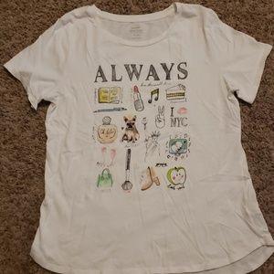 "Old Navy ""Always"" T-shirt"